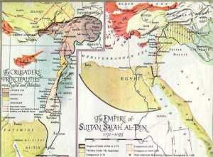 The Empire of Saladin.
